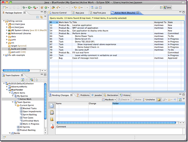 Eclipse 3.7 with Team Explorer Everywhere 2010 SP1