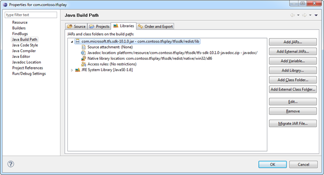 Configuring Java build path in Eclipse