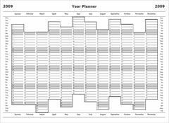 2009 Year Planner