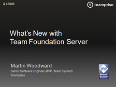 What's New with Team Foundation Server Slides