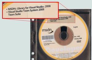 VSTS 2008 MSDN Media
