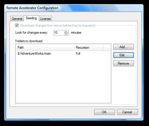 Remote Accelerator Configuration