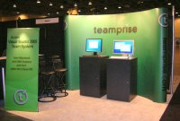 Teamprise Booth at VSLive in San Francisco